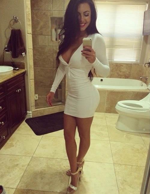 Ambil kekuatan Boob selfie Happy Girl (21)