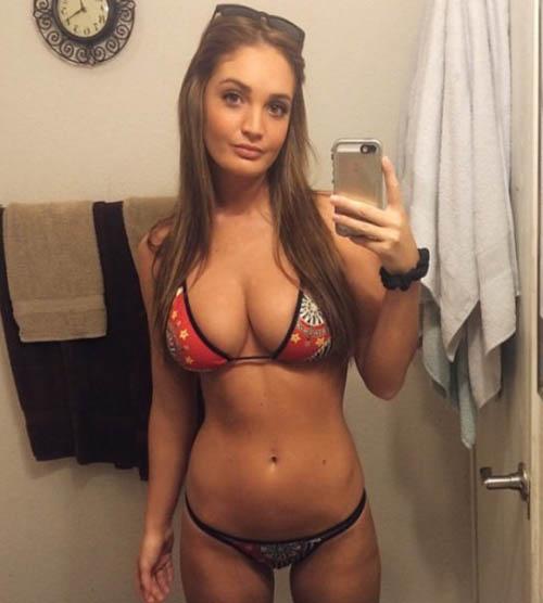 Ambil kekuatan Boob selfie Happy Girl (27)