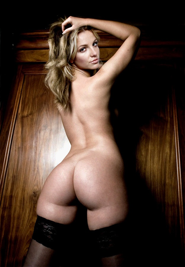Britney spears nude butt